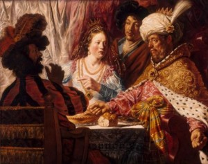 The Feast of Esther, Jan Lievens