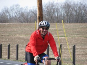 Jon Brockopp on bike