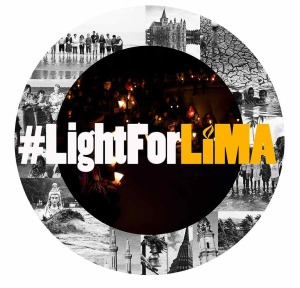light for lima globe logo